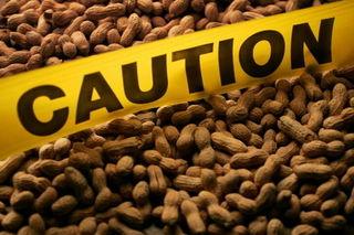 Peanut-caution