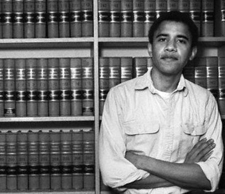 Barack Obama at Harvard